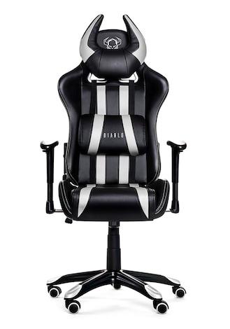 DIABLO X-ONE HORN Gaming Chair Black & white