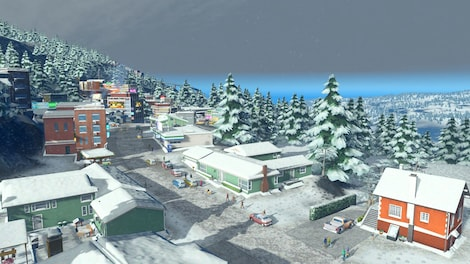 Cities: Skylines Snowfall Steam Key GLOBAL - screenshot - 12