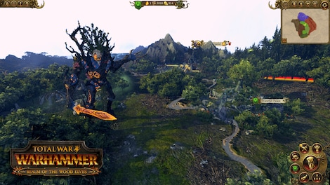Total War: WARHAMMER - The Realm of the Wood Elves Key Steam GLOBAL -  screenshot