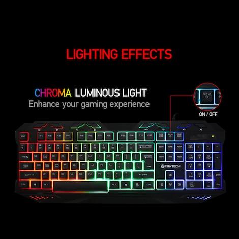 FANTECH K10 Backlight Gaming Professional Keyboard - product photo 2
