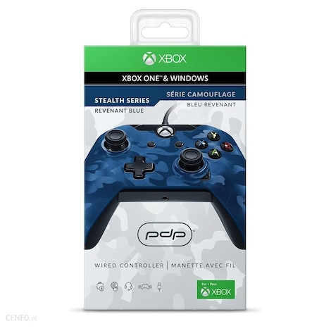 Pdp Camo Wired Controller For Xbox One Driver Windows 7: PDP Wired Controller (Blue Camo) (Xbox One / PC) - G2A.COMrh:g2a.com,Design