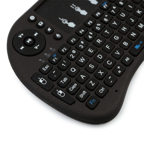 [REYTID] 2.4GHz Wireless Bluetooth Smart iKeyboard with Touchpad for Gaming, Smartphones, TV Android - product photo 2