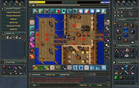 Tibia PACC Premium Time Cipsoft GLOBAL 30 Days Code - screenshot - 16
