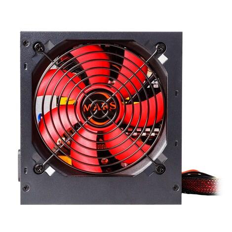 Mars MPII650 Gaming - PC Gaming power supply (650W, ATX, 12 cm fan, PFC Active, single rail 12V) - product photo 2