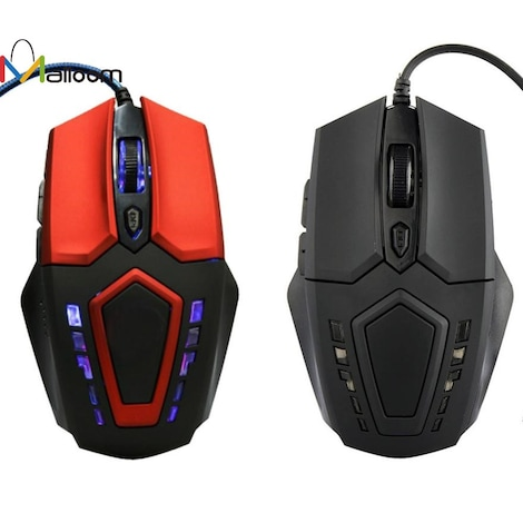 Gaming Mouse 3200 DPI 6D Buttons  Red