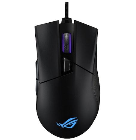 ASUS ROG Gladius II Origin ergonomic optical gaming mouse optimized for FPS with AURA Sync