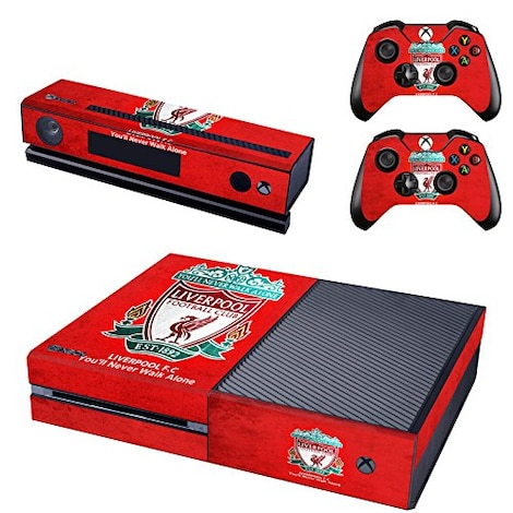 [REYTID] Xbox One Console Skin / Sticker + 2 x Controller Decals & Kinect Wrap - Liverpool Multi-colour XBOX ONE