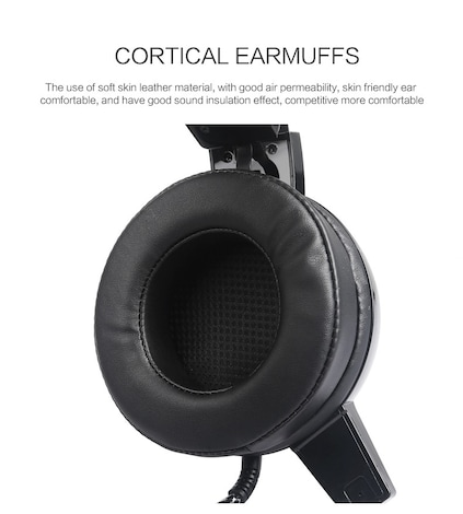 Wired Gaming Headset Deep Bass Black 1ft. - product photo 7