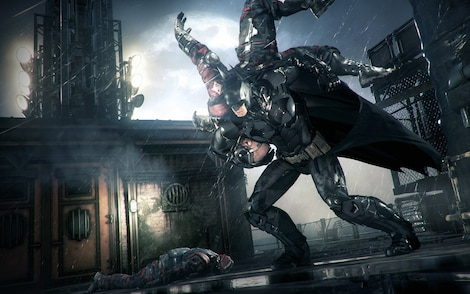 Batman: Arkham Knight Steam Key RU/CIS - gameplay - 7