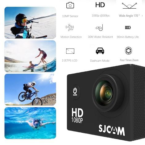 SJCAM SJ4000 12MP Action Camera Underwater Camera Sport Camcorder Golden - product photo 1
