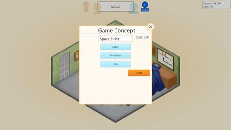 Game Dev Tycoon Steam Key GLOBAL - gameplay - 6