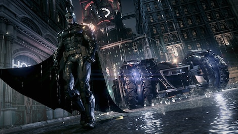 Batman: Arkham Knight Steam Key RU/CIS - gameplay - 10