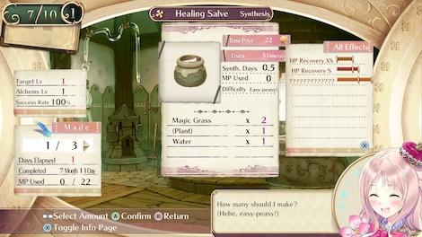 Atelier Meruru ~The Apprentice of Arland~ DX - メルルのアトリエ ~アーランドの錬金術士3~ DX Steam Key GLOBAL