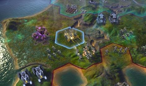 Sid Meier's Civilization: Beyond Earth Steam Key GLOBAL - gameplay - 4