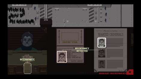 Papers, Please Steam Key GLOBAL - gameplay - 13