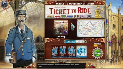Ticket to Ride Complete Pack Key Steam GLOBAL