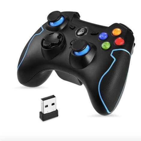 EasySMX ESM-9013 Wireless Gamepad Game joystick Controller - Compatible with PC - product photo 3