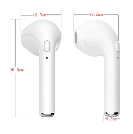 Bluetooth Earphones Earbuds for iPhone / Samsung  / Android