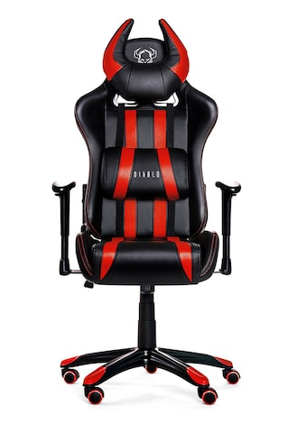 DIABLO X-ONE HORN Gaming Chair Black & red