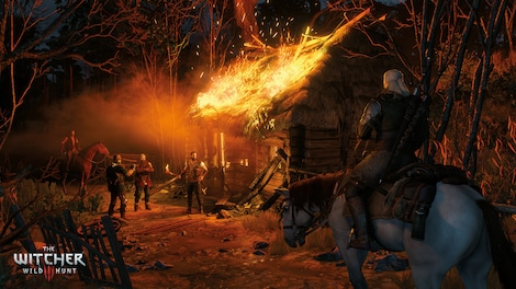 The Witcher 3: Wild Hunt GOG.COM Key GLOBAL - gameplay - 13