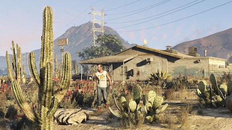 Grand Theft Auto V Rockstar Key GLOBAL - jugabilidad- 23