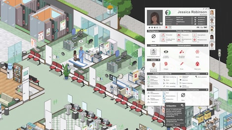 Project Hospital Steam Key GLOBAL - gameplay - 9