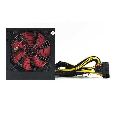 Mars MPII850 Gaming - PC Gaming power supply (850W, ATX, 12 cm fan, PFC Active, single rail 12V) - product photo 2