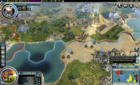 Sid Meier's Civilization V: Complete Edition Steam Key GLOBAL - ゲームプレイ - 2