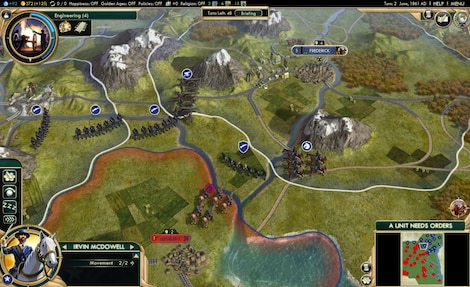 Sid Meier's Civilization V: Complete Edition Steam Key GLOBAL - ゲームプレイ - 12