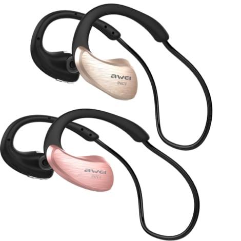 Awei A885bl Bluetooth Earphones Wireless Headphones With Microphone Nfc Apt X Sport Headset Cordless Earpieces Rose Gold N A G2a Com