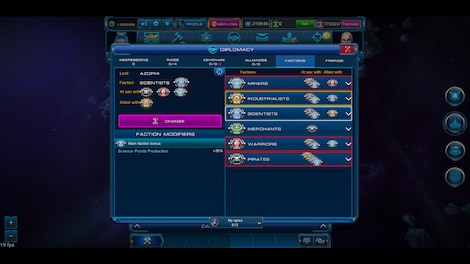 Astro Lords: Oort Cloud - MOBA: Two Stations 25 Key GLOBAL - screenshot - 10