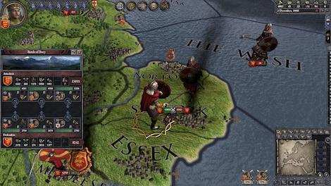 Crusader Kings II Steam Key GLOBAL - gameplay - 10