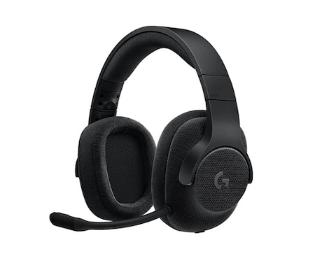 Logitech G433 – 7 1 Surround sound Wired Gaming Headset for PC, Xbox One,  PS4, Switch, Mobile Phone, black