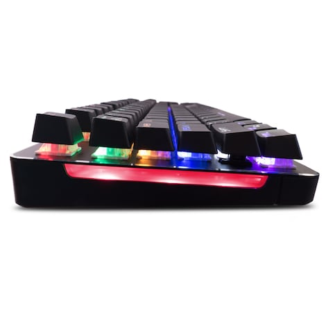 Mars Gaming MK4 Blue - Mechanical gaming keyboard (backlighting 6 colors, 10 profiles, 6 light effects) - product photo 2