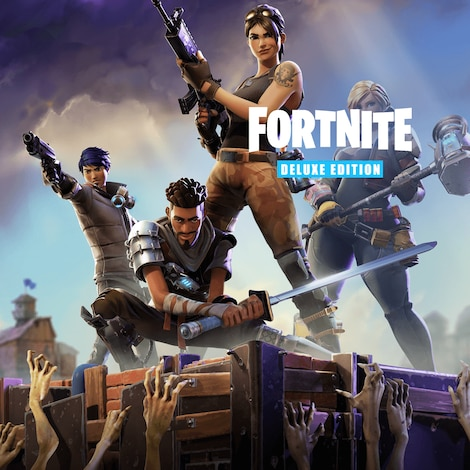 Fortnite deluxe edition Epic Games Key GLOBAL - gameplay - 6