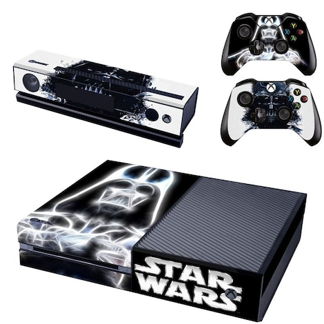 [REYTID] Xbox One Console Skin / Sticker + 2 x Controller Decals & Kinect Wrap - Darth Vader XBOX ONE Multi-colour