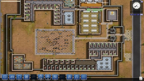 Prison Architect Standard Steam Key GLOBAL - gameplay - 11