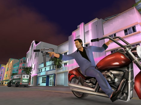 Grand Theft Auto: Vice City Steam Key GLOBAL - gameplay - 8