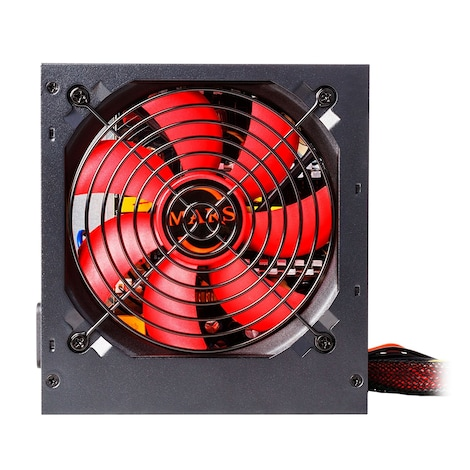 Mars MPII550 Gaming - PC Gaming power supply (550W, ATX, 12 cm fan, PFC Active, single rail 12V) - product photo 1