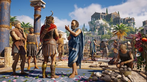 Assassin's Creed Odyssey Standard Edition Steam Gift GLOBAL - gameplay - 5
