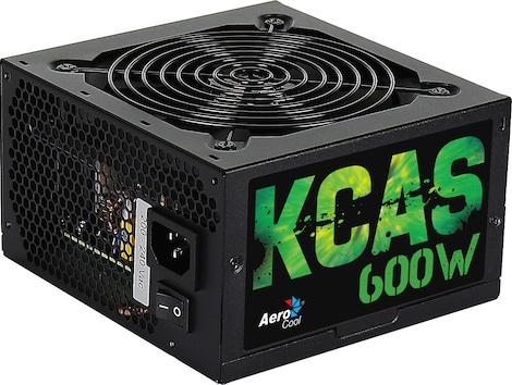 Aerocool KCAS600S - PC power supply unit 600W