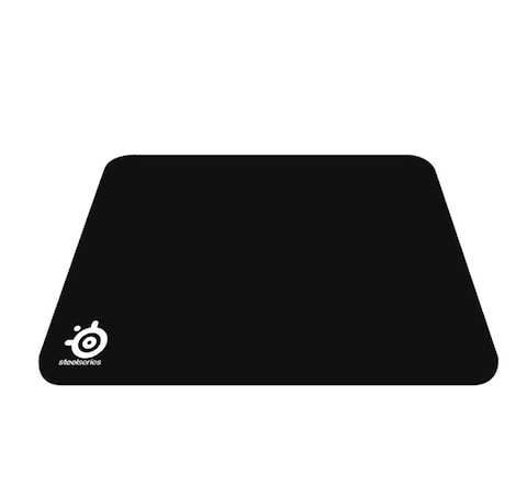 SteelSeries QcK, Gaming Mouse Pad - 320mm x 270mm x 2mm - Cloth - Rubber Base - Black