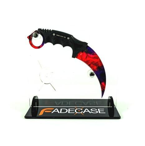 Chroma Doppler Phase2 - Karambit Elite - Fadecase Karambit Sharp