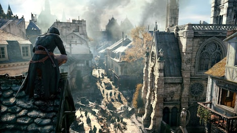 Assassin's Creed Unity XBOX LIVE Key GLOBAL - gameplay - 12