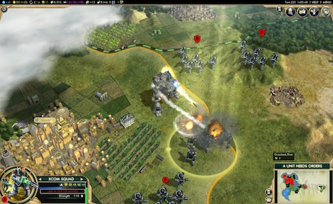 Sid Meier's Civilization V: Complete Edition Steam Key GLOBAL - ゲームプレイ - 18
