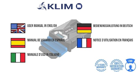 KLIM Cool Universal Gaming Laptop PC Cooler - USB Hot Air Extractor Blue - photo do producto 5