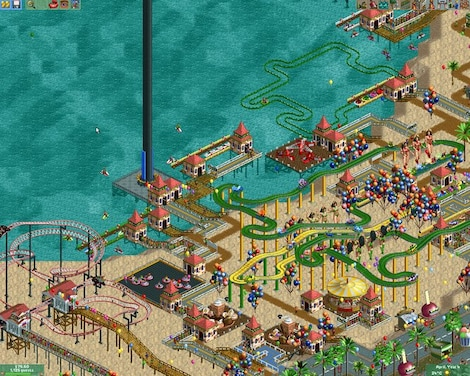 RollerCoaster Tycoon 2: Triple Thrill Pack Steam Key GLOBAL - gameplay - 12