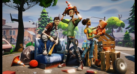 Fortnite deluxe edition Epic Games Key GLOBAL - gameplay - 2