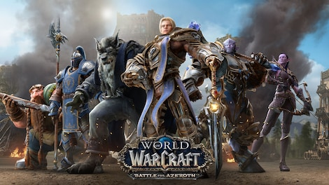 World of Warcraft: Battle for Azeroth Blizzard Key EUROPE - gameplay - 7