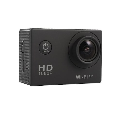 Waterproof Sports camera  - WIFI action 1080P HD DV  Blue - product photo 6